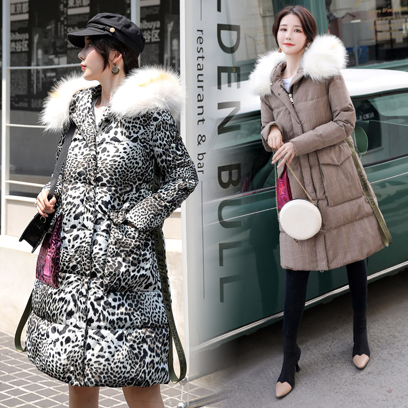 Winter Womens Jacket Coats High Quality Coat 2019 Long Jacket For Ladies Winter Long Coat Fur Collar Down Cotton Clothing
