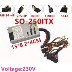 Nowy zasilacz do Rosoa AIO ITX mały 1U o mocy 150W szczytowy zasilacz 250W SO-250ITX
