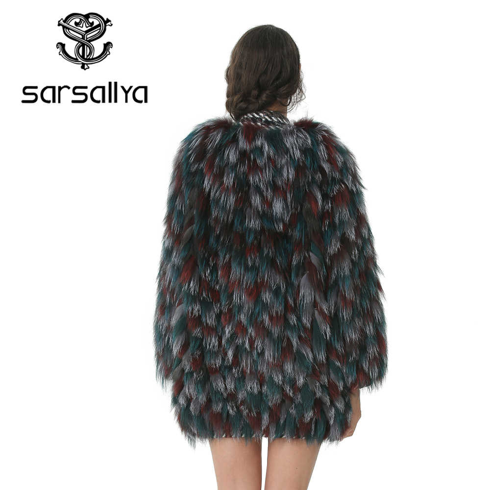 Dame Echt Fuchs Pelz Mantel Frauen Natürlichen Pelz Jacke Mode Fuchs Pelz Kleidung Mantel Weibliche Pelz Oberbekleidung