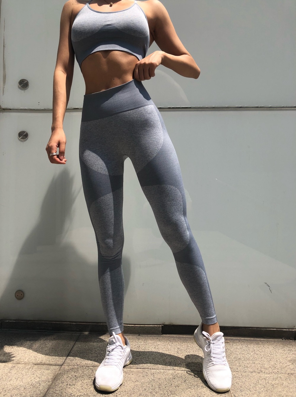 Camouflage Camo Set Wear For Women Gym Fitness Clothing Booty  Leggings Sport Bra Suit 11