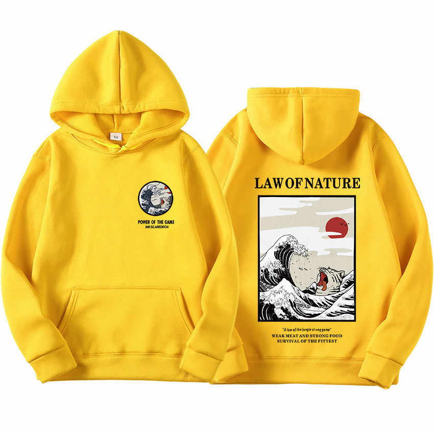 Hoodies Männer Frauen Neueste Japanischen Lustige Katze Welle Gedruckt Hoodies 2019 Winter Japan Stil Hip Hop Casual Sweatshirts Streetwear