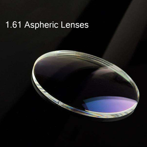 Image 3 - BCLEAR 1.60 Index Aspheric Clear Lens MR 8 Super Hard Optical Glasses Prescription Lenses Strong Anti Reflective for Rimless