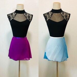 Image 4 - Ballet Leotard Adult 2020 Black Comfortable Practice Dance Wear Women Aerobics Gymnastics Leotard Adult Ballet Dancing Skirt