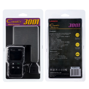 Image 5 - LAUNCH Full OBD2 Code Reader Scanner Creader 3001 OBDII/EOBD Car Diagnostic Tool In Russian CR3001 pk AL319 AL519 OM123