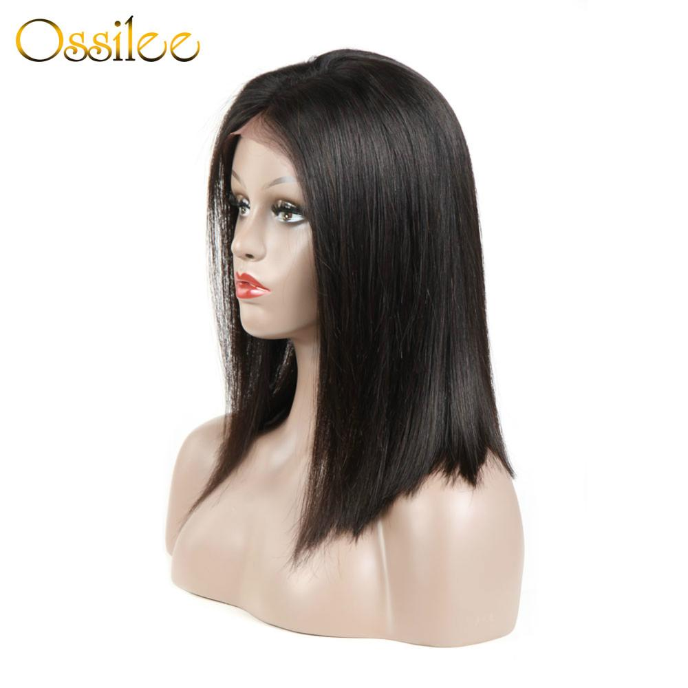 Short Bob Lace Front Wigs Bob Wig Lace Front Human Hair Wigs Peruvian Remy Hair 13x4 Lace Front Wig
