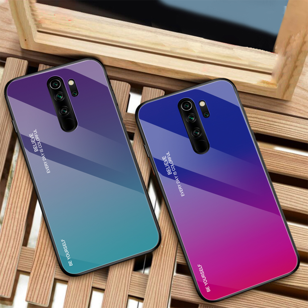 Cover For <font><b>Xiaomi</b></font> Redmi Note 8 Pro 7A Note 7 Pro Luxury Gradient Phone Case For <font><b>Xiaomi</b></font> <font><b>Mi</b></font> 9T Pro <font><b>9</b></font> <font><b>SE</b></font> Mi9 T Mi9T Case Glossy <font><b>Capa</b></font> image