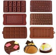 Hot Stile Silikon Schokolade Formen Reusable Silikon Gebäck Formen Candy Gummy Form Kuchen Dekorieren Backen Werkzeuge