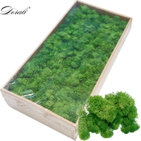 1000g high quality simulation green plant immortal fake flower moss grass home living room decorative wall DIY flower decoration