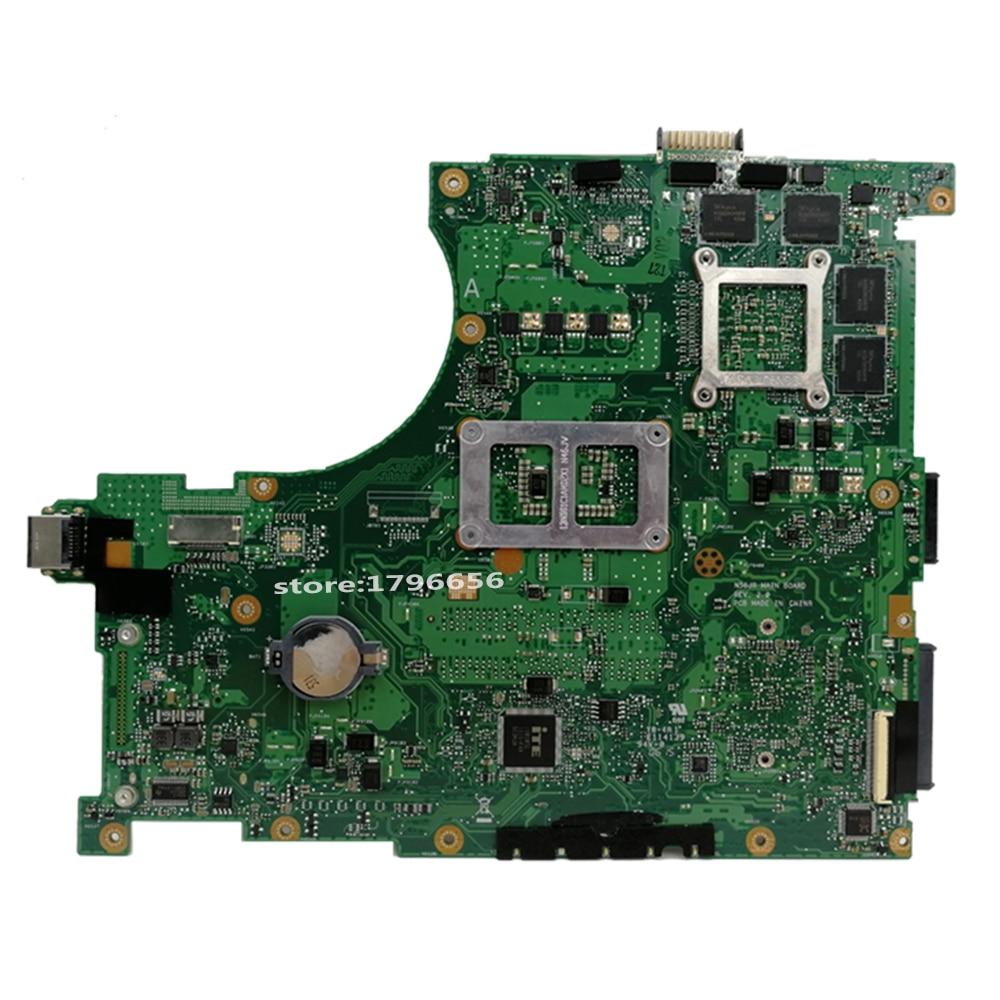 Send board +N56JR Motherboard i7-4700HQ GTX760M For ASUS G56J N56J G56JR laptop Motherboard N56JR Mainboard N56JR Motherboard