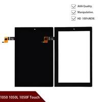 10.1 inch inch polegadas para lenovo yoga 2 1050 1050f 1050l painel da tela de toque digitador vidro display lcd assembléia peças v4 freeshipping|Painéis e LCDs p/ tablet| |  -