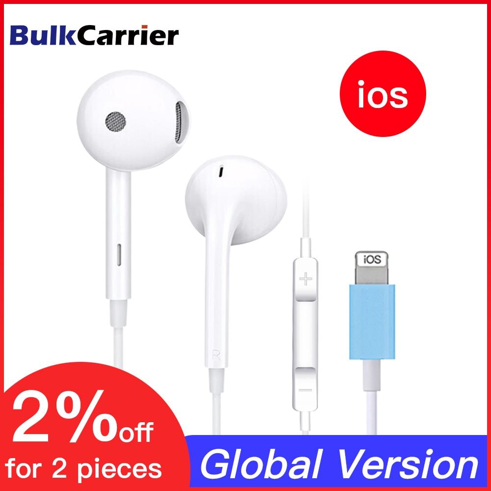 Проводные наушники для Apple iPad iPhone 7 8 11 Plus X XS MAX XR, Bluetooth-наушники, музыкальные стереонаушники с микрофоном