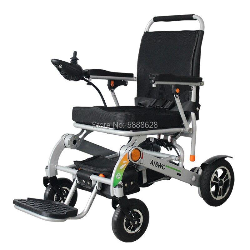 Новый продукт двойной двигатель 500 Вт 120 кг загрузка легкий Мощность Складная коляска с электроприводом для людей с ограниченными возможнос...