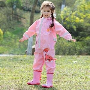 Image 3 - Barboteuse pour bébés de 1 à 9 ans, pour garçons et filles, combinaison imperméable