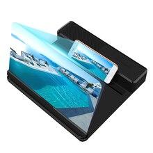 Screen-Amplifier Speaker Portable 12inch with Enlarged Desktop-Holder Movie 3D HD Magnifying-Stand-Bracket