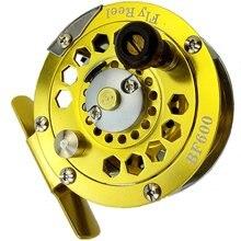 Металлическая Рыболовная катушка bf600/800/1000 для ловли нахлыстом