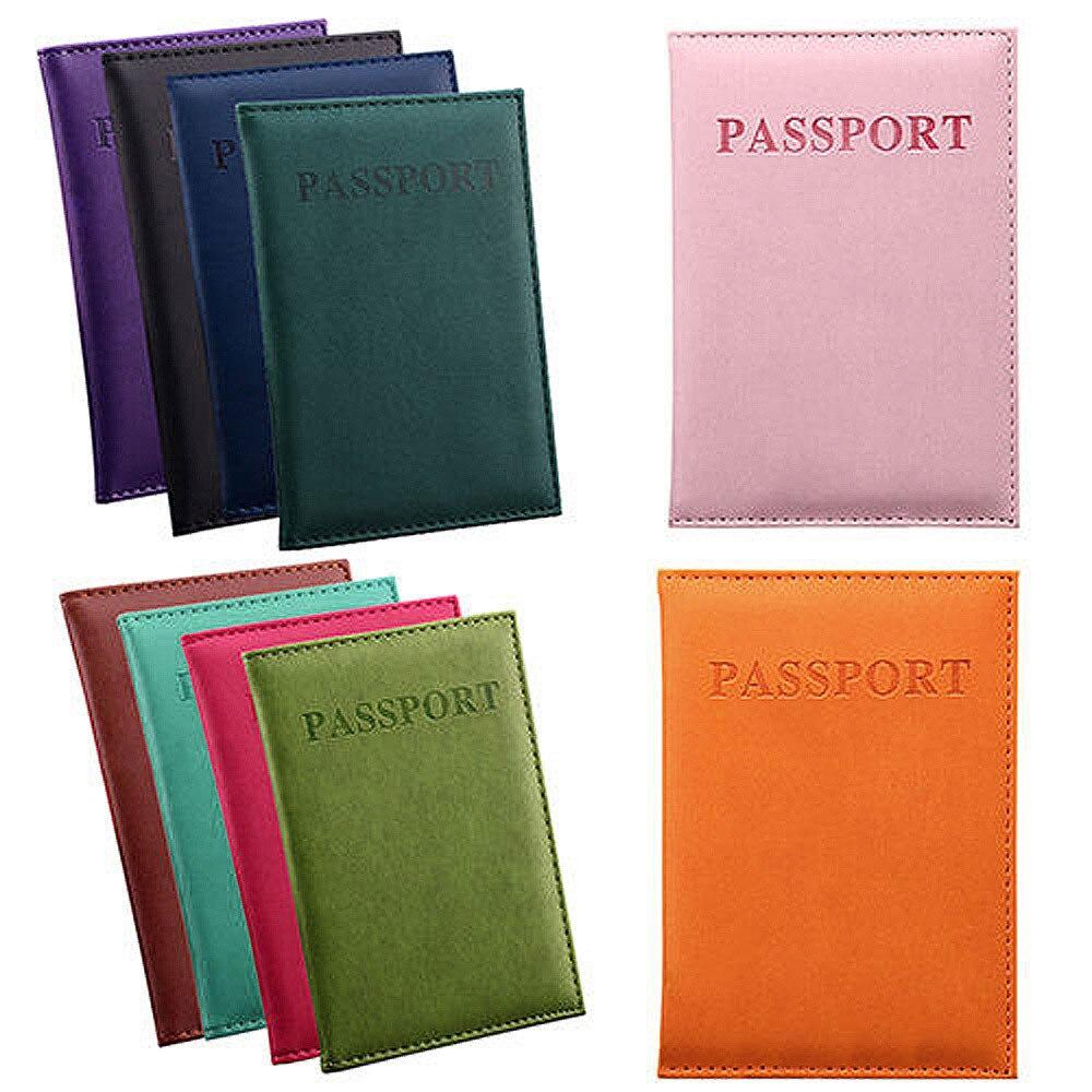 Custodia per passaporto dedicata Nice Travel porta carte d'identità custodia protettiva Organizer portafoglio sottile da uomo con portamonete portafoglio con cerniera #10