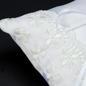 Image 4 - Lace Flower Ring Bearer Pillow Cushion Decorated Bridal Wedding Ceremony Pocket Wedding Accessories Decoration