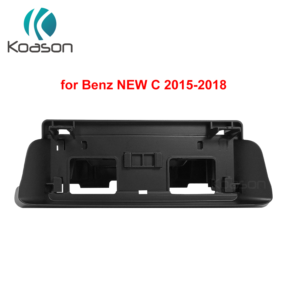 Black Plastic frame base stand for BENZ new C/C class/C class (LHD <font><b>RHD</b></font>) CLS w205 <font><b>w204</b></font> w218 <font><b>Android</b></font> GPS Original Screen Bracket image