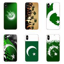 Soft Transparent Covers For Xiaomi Redmi Mi 4 7A 9T K20 CC9 CC9e Note 7 9 Y3 SE Pro Prime Go Play Pakistan National Flag