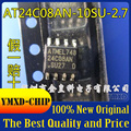 10 шт./лот новый оригинальный AT24C08AN-10SU-2.7 оригинальный ATMEL лапками углублением SOP-8 чип памяти в наличии