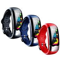 New Women Smart Watch Sports Watch Men Blood Pressure Monitor Heart Rate Fitness Tracker Pedometer Watch USB Smart Bracelet