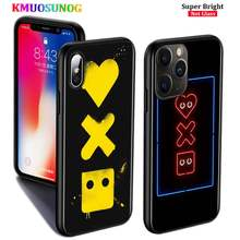 Black Silicone Case Love Death Robots tv show for iPhone 11 11Pro XS MAX XR X 8 7 6S 6 Plus 5S Gloss Phone Case Cover(China)