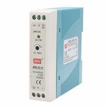 Industrielle Steuerung MDR-20-12V/24V Schalt Netzteil 20W 1,67 EINE Kleine-Volumen Führungsschiene Dünne Transformator