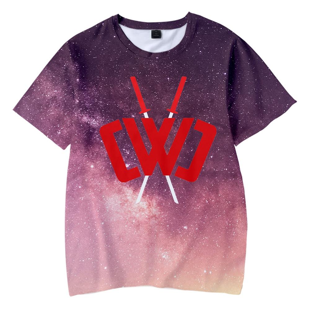 Chad Wild Clay 3D Children T-shirts Fashion Summer Short Sleeve Tshirt 2020 Hot Sale Harajuku Kids Streetwear Clothes Suitable