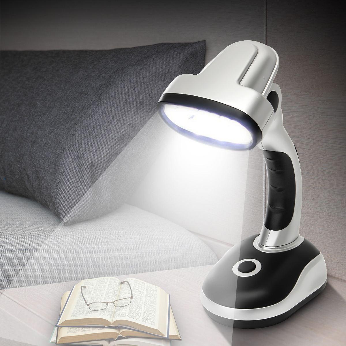 Portable Flexible Lantern 12 LED Desk Lamp Camping Light Battery Powered Night Light For Bedroom Living Room Camping