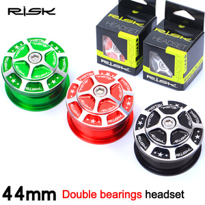 RISK 28.6/44-44/30mm Bicycle Built-in Hidden Headset Aluminum MTB Road Bike 1 1/8
