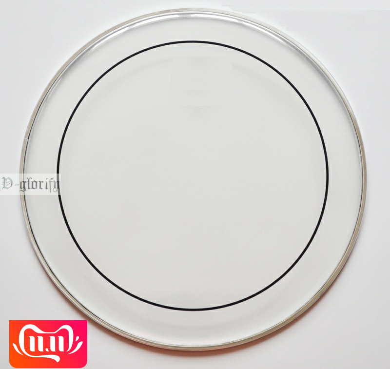 6.8.10.12.13.14.16.18.20.22 Inch Double Layer Drum Skin Transparent Drum Head Free Shipping