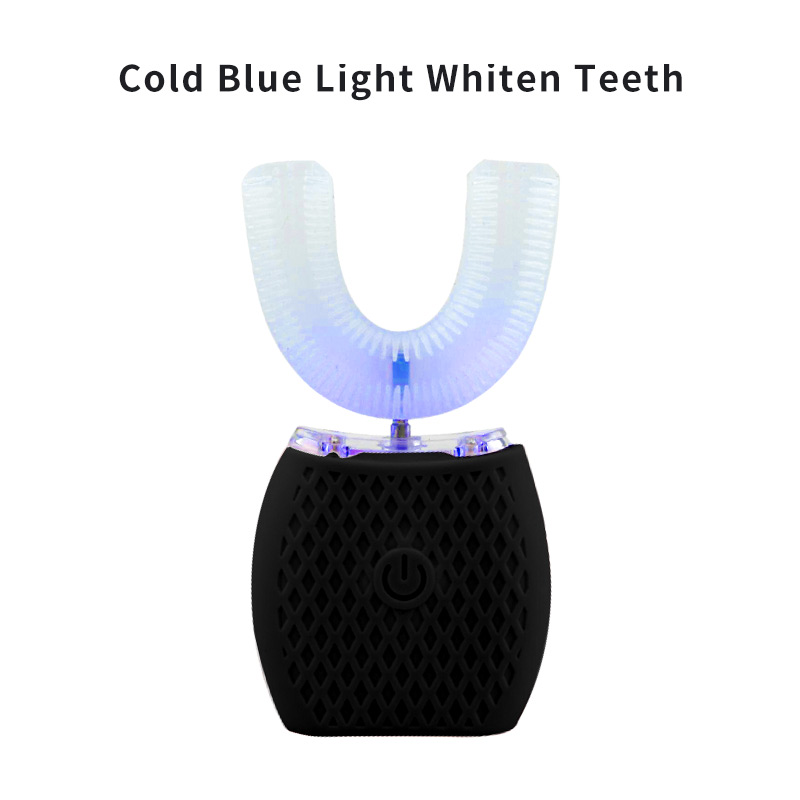 Electric Toothbrush U-Shape Automatic Teeth Brush 360 Degree Cover Teeth Wireless Charging IPX7 Waterproof Massage Toothbrush