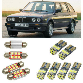 superbrig Interior led Car lights For BMW 3 touring e30 estate Reading dome bulbs for cars error free License Plate Light image