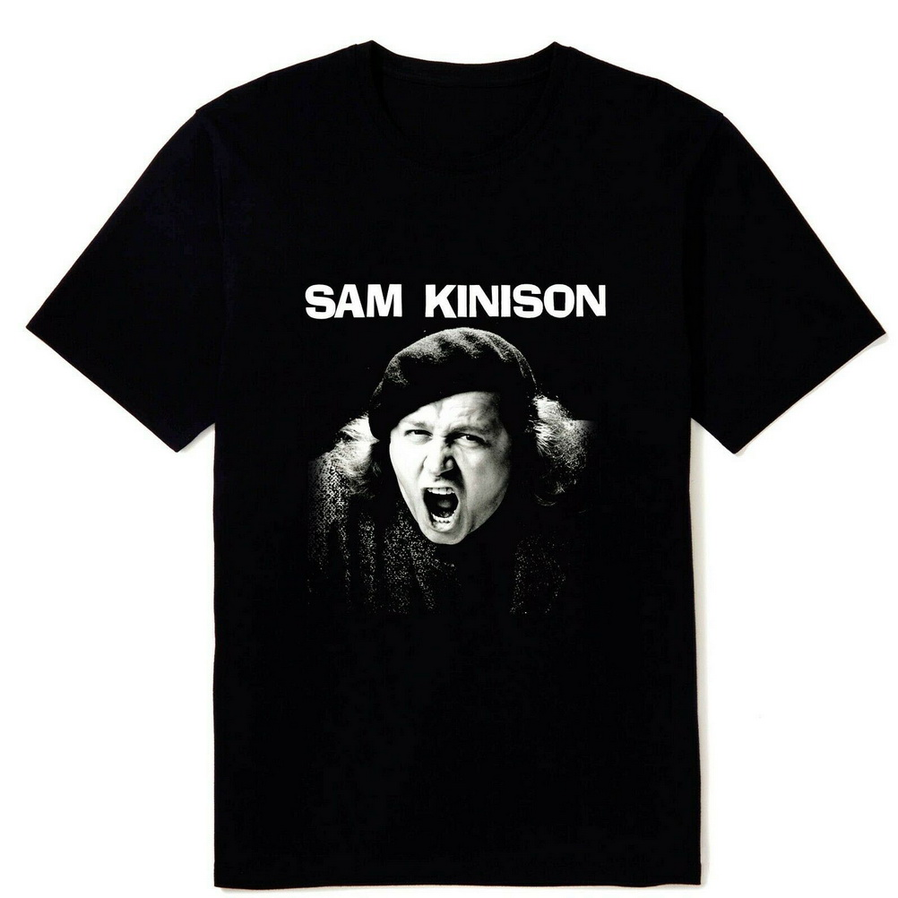 Vintage Sam Kinison Comedian Legend Men's Black Tops Tee T Shirt Sizes S M L XL 2XL 3XL Cool Gift Personality T-Shirt image