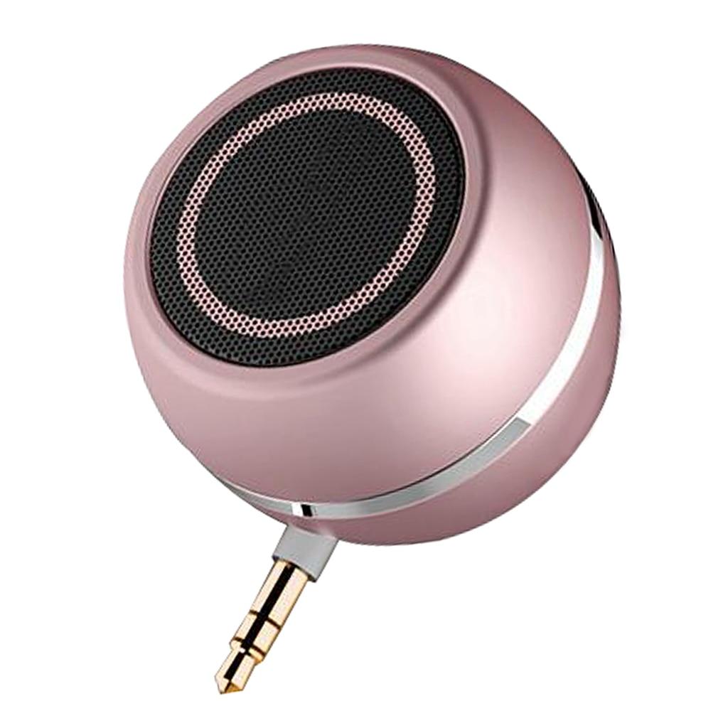 Satın Al Taşınabilir Mini Hoparlör 3W 3.5mm AUX Jack Müzik Ses Çalar İçin  Telefon Notebook, TL191.39