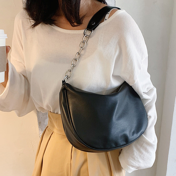 Designer Women Pu Leather Handbags Shoulder Bags Fashion Ladies Small Crossbody Bags for Women Casual Female Messenger Bag New image