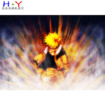 5D DIY Diamond Painting Japanese Anime Naruto Embroidery Rhinestone Cross Stitch Home Decor Free Shipping image