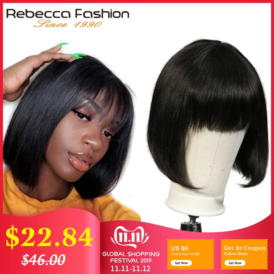 rebecca-mix-color-short-cut-straight-hair-wig-peruvian-remy-human-hair-wigs-for-black-women-brown-ombre-red-blue-wig-free-ship