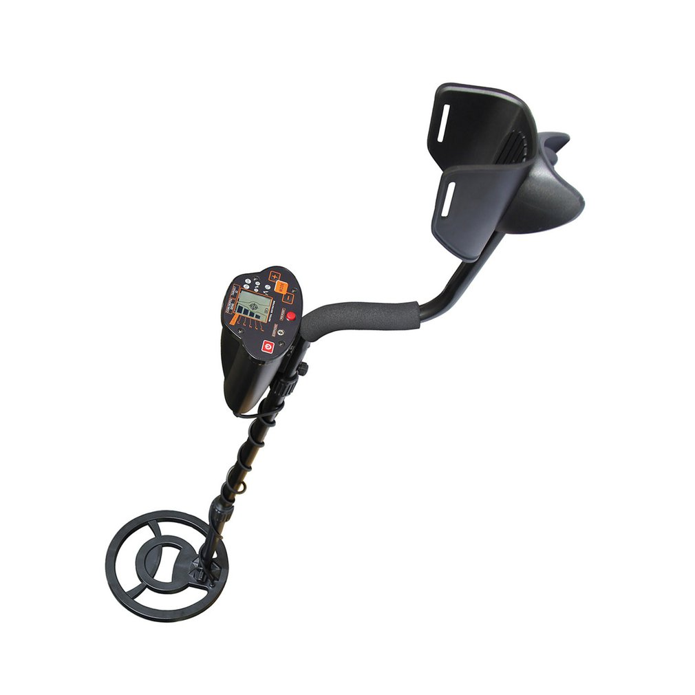 Metal-Detector with Lcd-Display Large-Coil MD-5030 Treasure Hunter Gold Underground title=