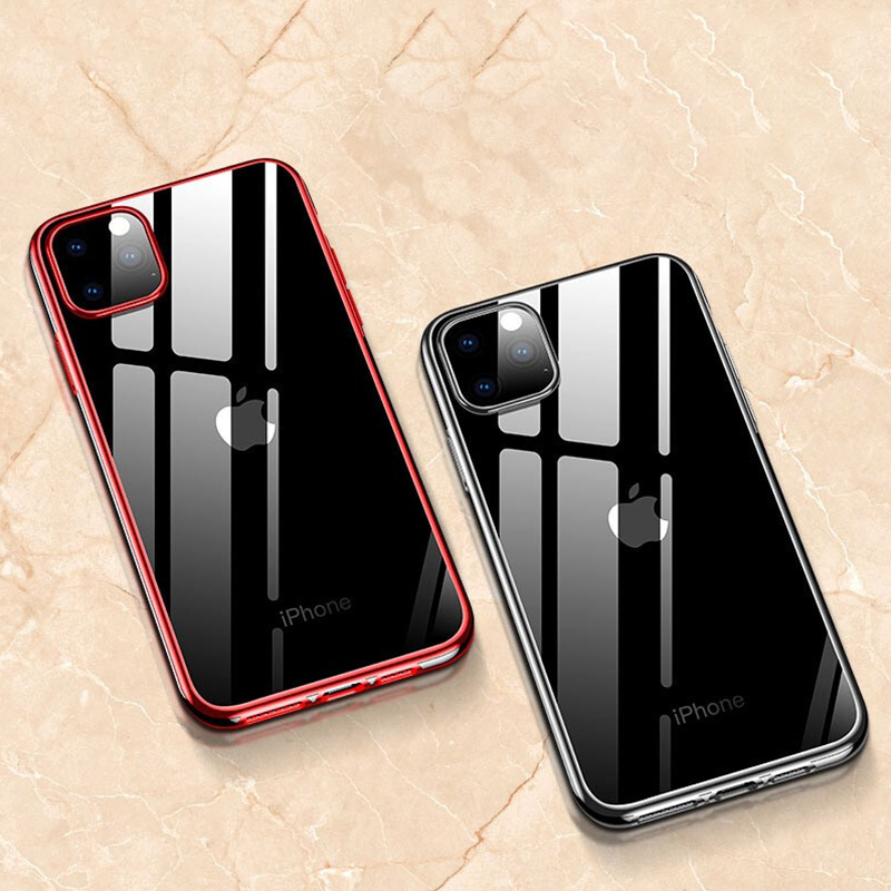 Hacrin Transparent TPU Silicone Case for iPhone 11/11 Pro/11 Pro Max 4