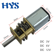 HYS DC 3V 6V 12V Gear Motor Reducer 12 volt V Electric Mini Small N20 Micro Metal Motors 15/50/60/100/200/300/500/1000RPM