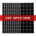 Dokio 1000w 12V монокристаллические закаленное Стекло Панели солнечные для дома Водонепроницаемый 18V Панели солнечные Китай (материк)