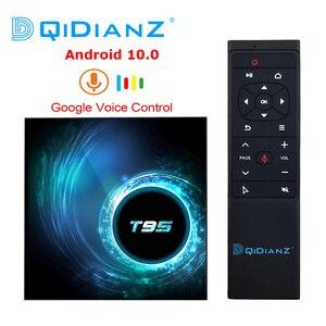 Image 1 - Новый Android 10,0 T95 Smart TV Box 4 ГБ 32 ГБ 64 Гб Allwinner H616 четырехъядерный 1080P H.265 4K медиаплеер 2 Гб 16 Гб телеприставка