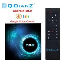 Box para Smart TV T95, Android 10.0, 4GB 32GB 64GB Allwinner H616 Quad Core, 1080P H.265 4K, com Media player 2GB 16GB, modelo novo