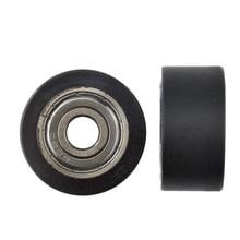 5 шт. 8x32x16 мм подшипник delrin POM с покрытием плоского типа роликовый шкив колеса для профиля направляющего колеса роликового шкива