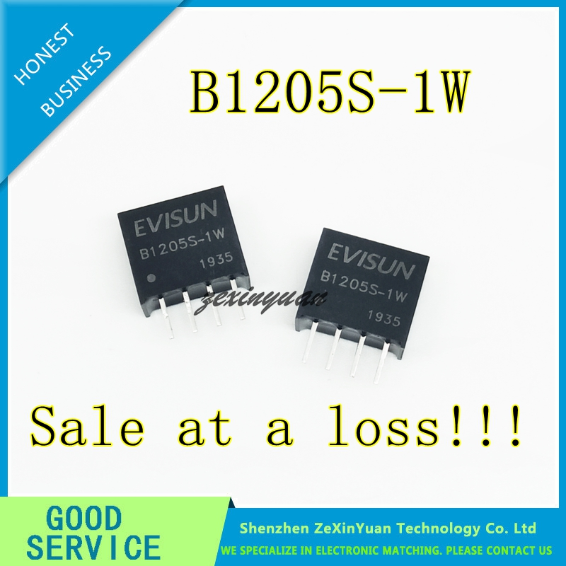 B1205S-1W B1205S DIP-4 12V To 5V DC-DC Isolated Power Module