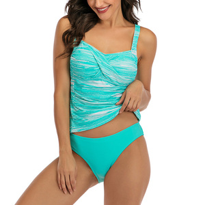 Image 5 - Женский раздельный купальник Riseado, купальник из двух частей, с пуш ап эффектом, танкини 2020, летняя пляжная одежда, сексуальные купальные костюмы с рюшами