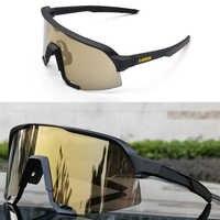 2019 nuevo S3 Gafas de sol de Ciclismo syan LE colección MTB Gafas de Ciclismo Gafas de sol UV400 Gafas de Ciclismo 3 100 de lente