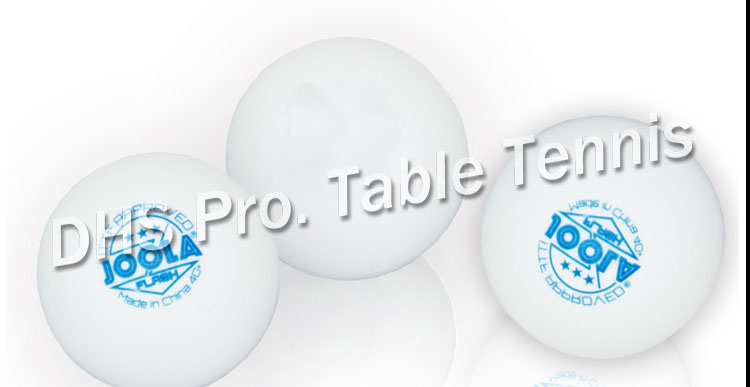 ITTF Approved Joola 3 Star Tournament USE 40+ New Material Seamless PP Ball Table Tennis Ball / Ping Pong Ball 6pcs