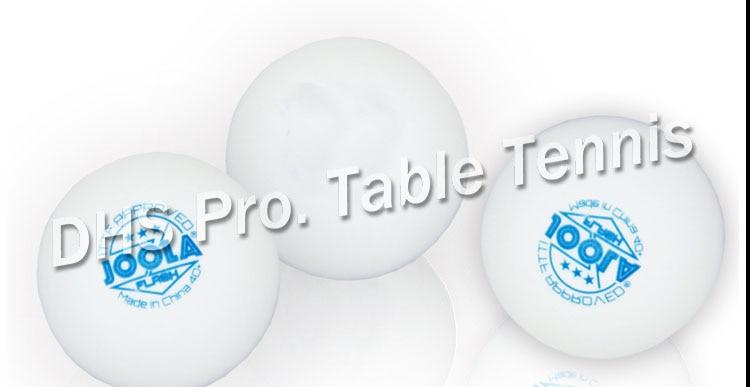 ITTF Approved Joola 3 Star Tournament USE 40+ New Material Seamless PP Ball Table Tennis Ball / Ping Pong Ball 6pcs